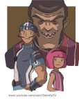 Sportacus Stephanie  and Robbie Rotten Lazy Town by Carlos-MP
