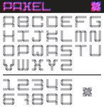 Paxel Typeface by optimiss