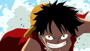 Luffy From One Piece by JubyPhonic