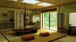 Japanese Interior 01 by HANxOPX