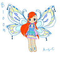 Winx Club- Bloom::Enchantix:: by Ally-Sama-Chan