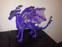 Dragon Sculpture by griffin126