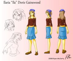Ila Character Design by Didj
