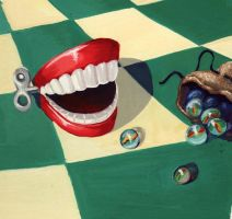 Mouth with Marbles by victoriaD