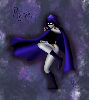 Raven by Alelwing