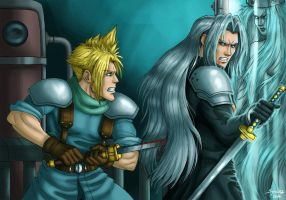 Final Fantasy VII moment by syren007