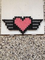 Heart with wings by Jena-Rose