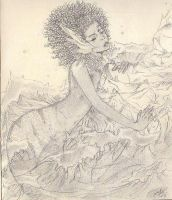 african mermaid completed by draggersprez
