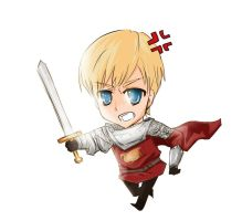 Merlin BBC: Chibi Arthur by NAD-LifeOfficial