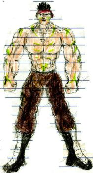 Muscle Man by atilaking666