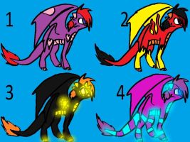dragon adopts OPEN by ButtonsTheCat-Adopts