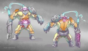Neon Strike Sion by BrotherBaston