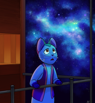 Night on the Galactic Railroad by wormologist