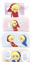 LOZ FS Comic RedxBlue by Angels-Leaf