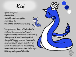 Kai Reference Sheet by DragonwolfRooke