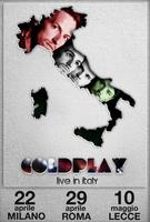 Coldplay live in Italy by mattH27