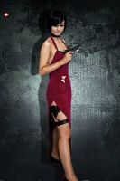 ADA WONG COSPLAY RESIDENT EVIL 4 !!! by CosmicNya