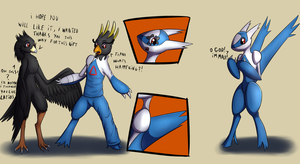 Latios tf tg (art trade) by Tomek1000