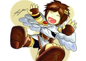 Chibi Pit - Kid Icarus Uprising by ppeach444