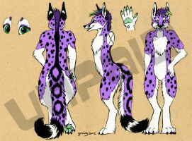 Fursuit Design for Sale by LobitaWorks