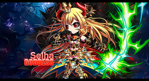 Goddess of Destruction Selha Signature by Aegid