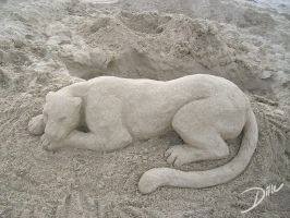 Sand Cat by DaffoDille