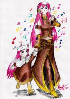 Megurine Luka: ToEto by hewhowalksdeath
