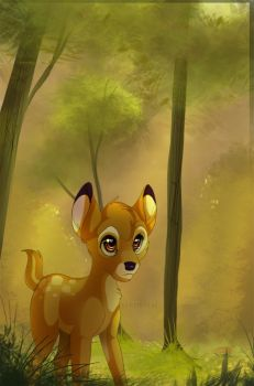 Prince of the Forest by Kitchiki