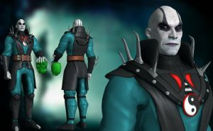 Quan Chi classic outfit by UndeadMentor