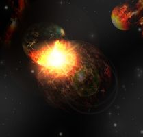 collisions between planets by faathir95