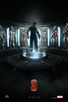 Iron Man 3 Official Poster (Super High-Res) by super-gamer