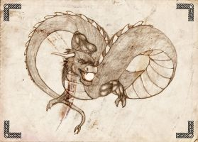 Dragon with pearl_edited by LittleLorel