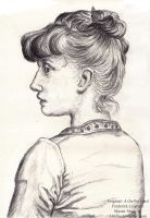Master Study- A Girl by Abellia