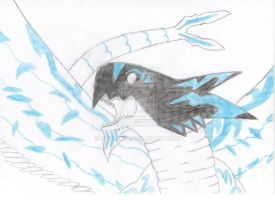 Acnologia / The Black Dragon ([ Fairy Tail ]) by Rayckro
