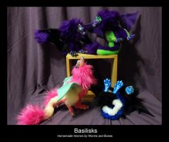 Basilisk Quartet by WormsandBones