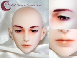 BJD Face Up - Souldoll Sharics 02 by Izabeth