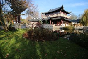 Chinese garden Stock 059 (private use) by Malleni-Stock