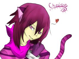 Cheshire Cat in Human Form by CheshireWolf97