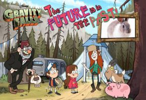 Gravity Falls Postcard by Pyroraptor42