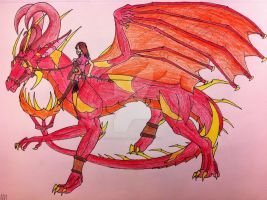 The Sun Rider by queenfirelily17