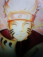 FAN ART NARUTO MODO RIKUDOU by gonzalo17