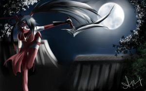 League of Legends Akali by blackroseKJL