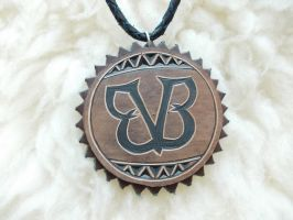 BVB logo pendant by dionesambrozius