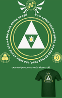 LOZ LOTR Lord of the Triforce T Shirt by Enlightenup23