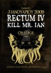 rectum iv gig poster by synart21