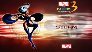 Marvel VS Capcom 3 Storm by CrossDominatriX5