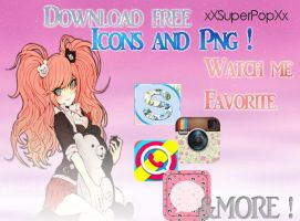 New Icons and Png by xXSuperPopXx