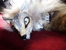 Wolf Flop Doll by blackiceheart