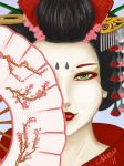 Geisha by Swevenzre