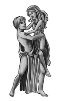 Hades and Persephone by bechedor79